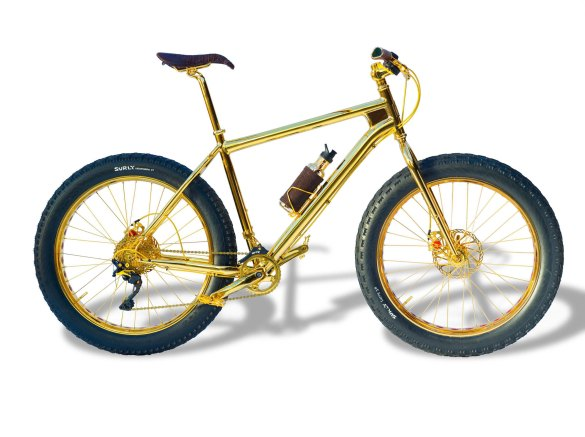 The House of Solid Gold Mountain Bike