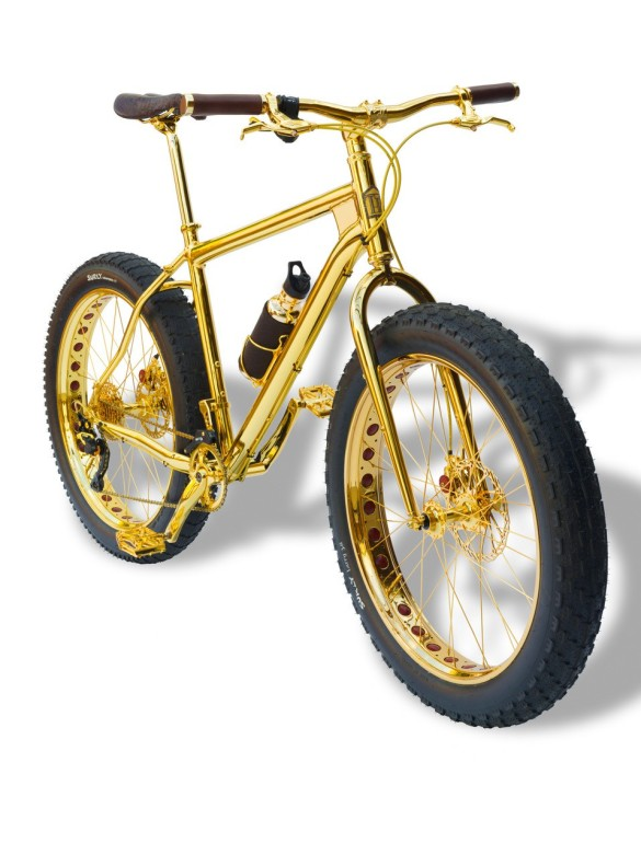 THSG Moutain Bike in 24k Gold