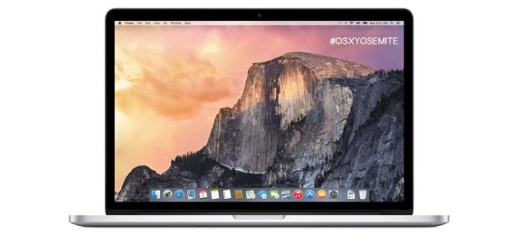 OS X Yosemite new UI